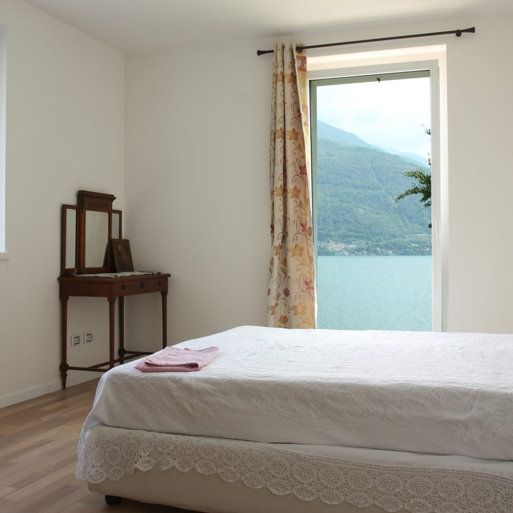View of the Lake from bedroom